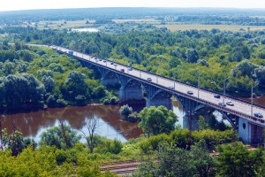 Large Bridge over a River