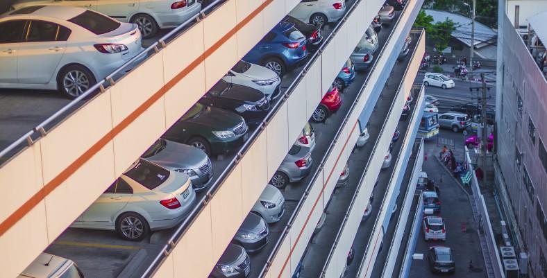 sky car park